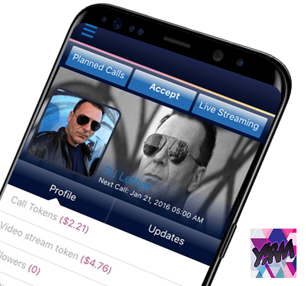 Yirm Celeb-Live Streaming App